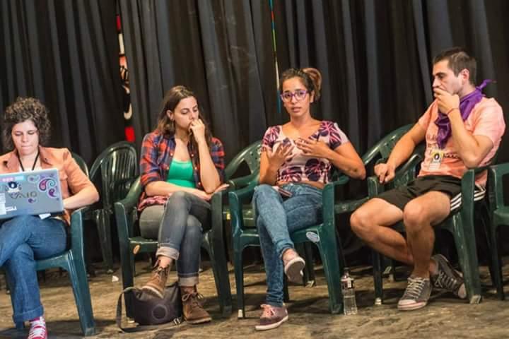 Mariana Iácono en una de las sesiones de ELLAS 2015